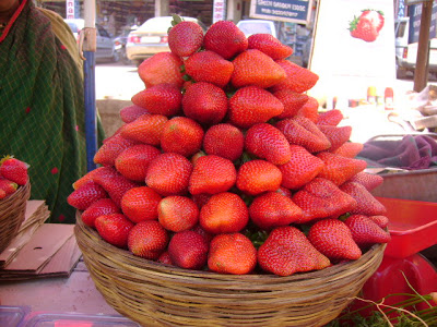 Strawberries Mahabaleshwar
