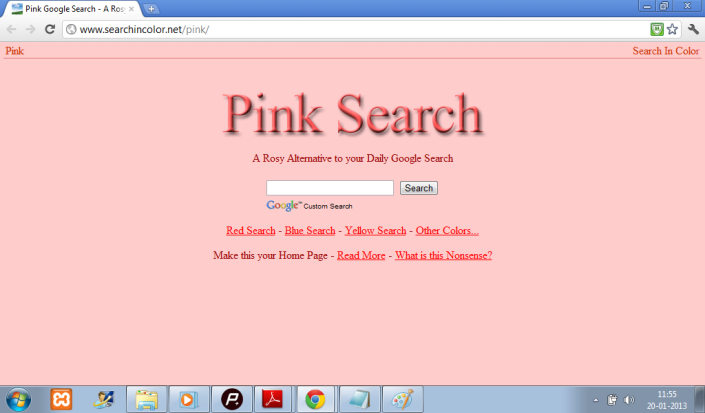 Rosy search result