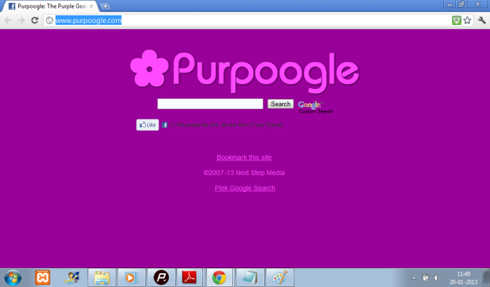 purple google